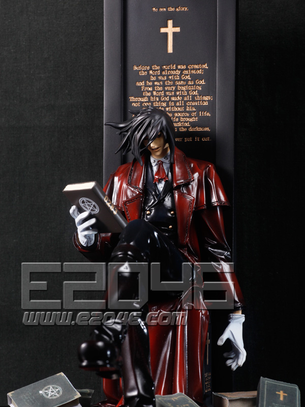 Alucard Surrounding with Book (Pre-painted)