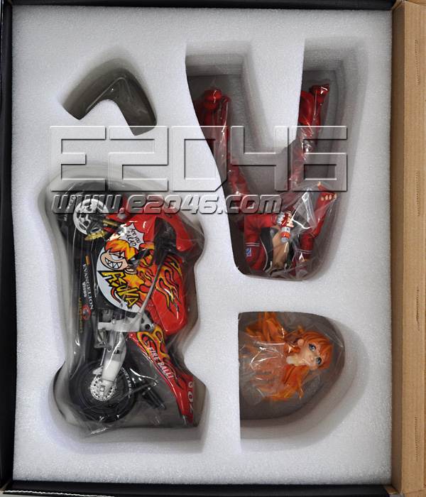 Asuka with Motorcycle 2 (Pre-painted)