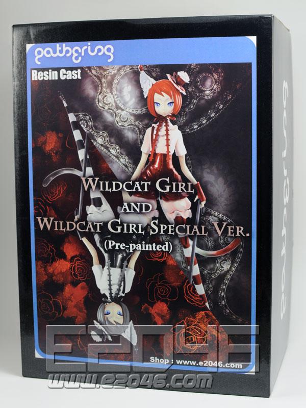 Wildcat Girl and Wildcat Girl Special Ver. (Pre-painted)