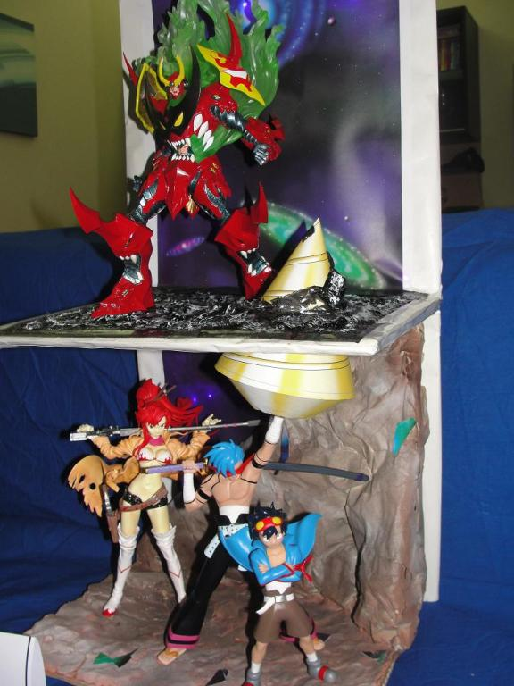 pierce the sky Gurren Lagann  sfondamento dei cieli