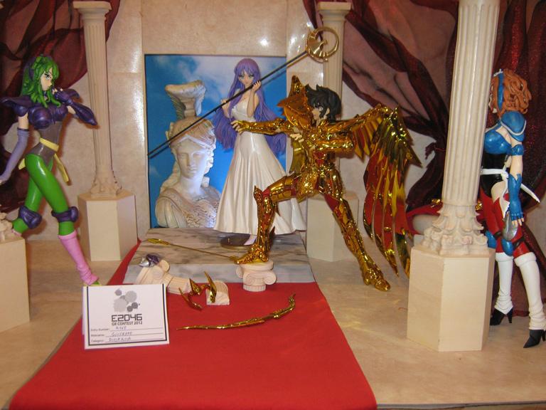 FIGHTING FOR GODDESS ATHENA!!