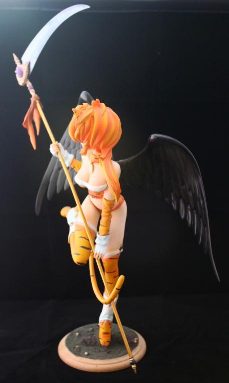 Devil Girl with Scythe