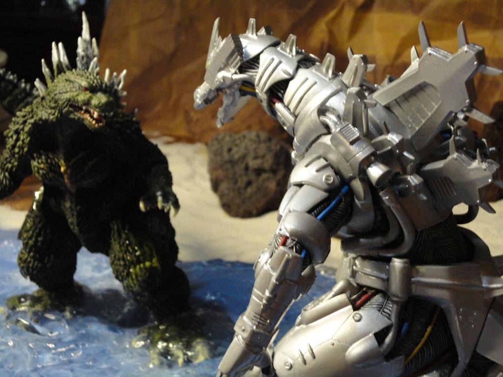 Godzilla VS Mecha Godzilla the Ultimate Battle