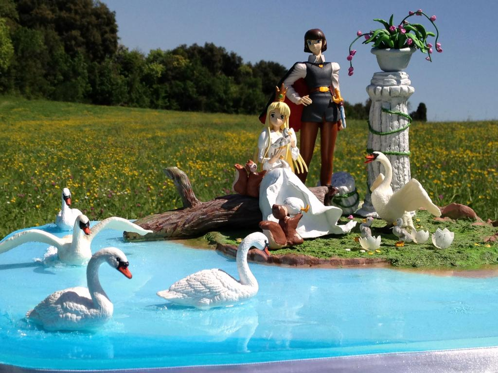 tribute to the animated film Swan Lake