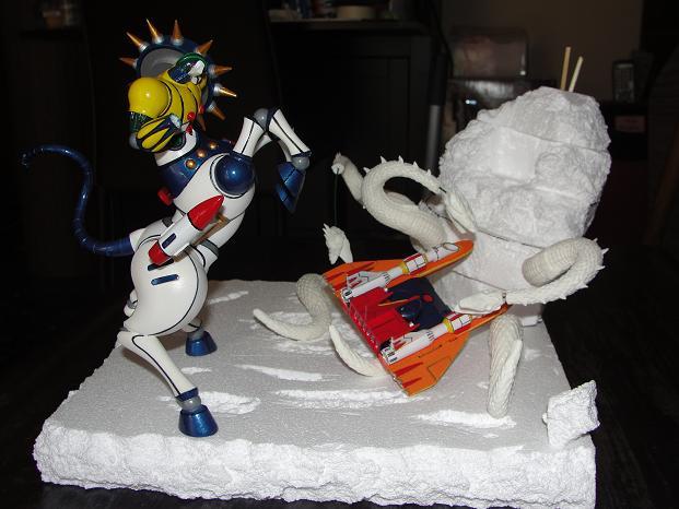 Koutetsu jeeg VS yamata no orochi