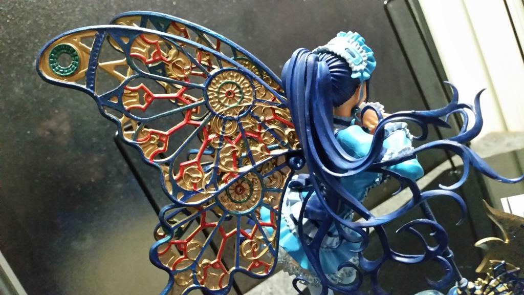 Raquel Gothic Metallic Wings