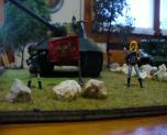 Girl und panzer diorama.