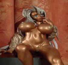 Bronze nude