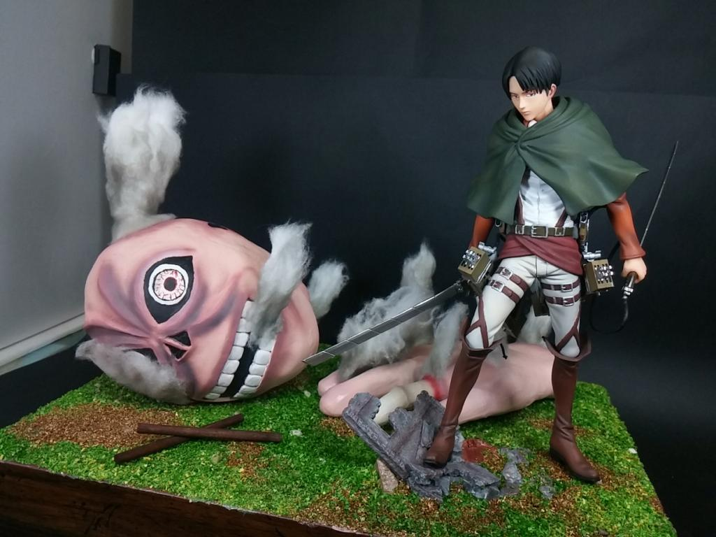 Levi After Fighting [Attack On Titan Levi]