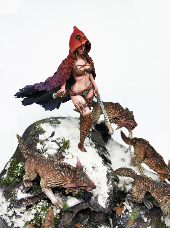 Little Red Riding Hood-Queen of the Wolves