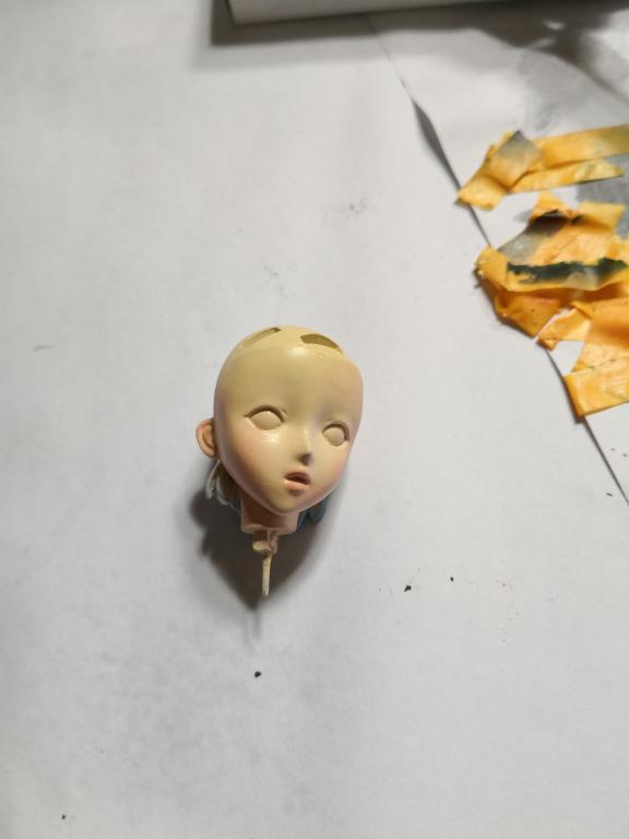 绫波零战斗服人形涂装