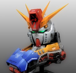 ZZ Gundam Bust