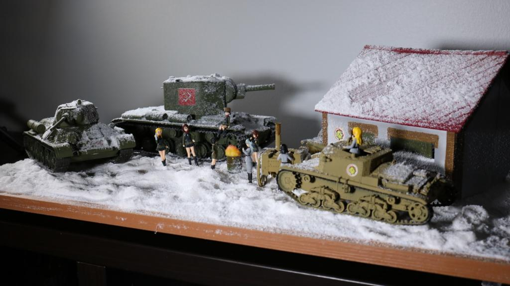 Girls und panzer diorama project: Pravda & Anzio
