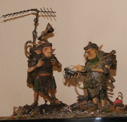 Scrap Goblins Engineer and Lackey stock taking scale 1/1