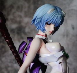 Ayanami Rei with Longinus 1/4 scale by Volks