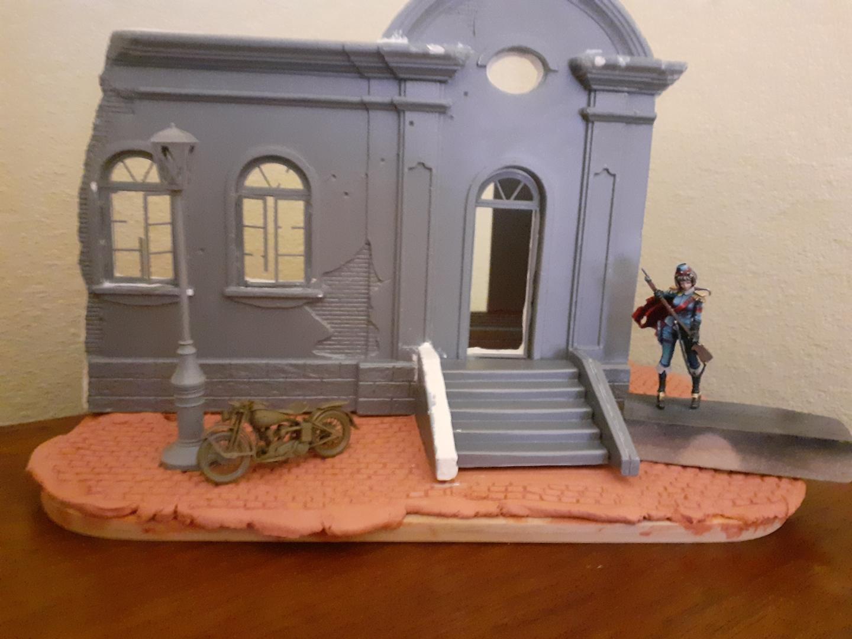 Gallian Forward Command Post