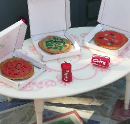 PIZZA'S PARTY