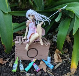 1/8 Sengoku Nadeko Medusa Version
