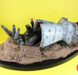 Karn Haman - AMX-004 Qubeley (Diorama)