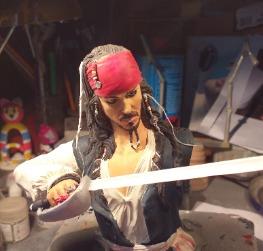 Jack Sparrow - busto