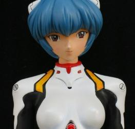 Rei Ayanami in plugsuit
