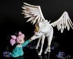 Chibiusa with Pegasus