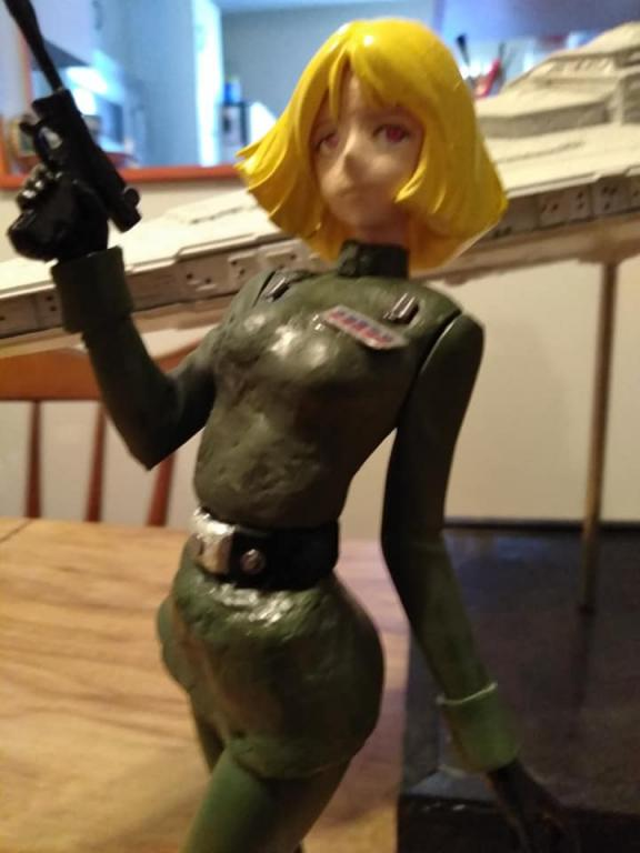 Sayla Mass conversion into Imperial officer maquet