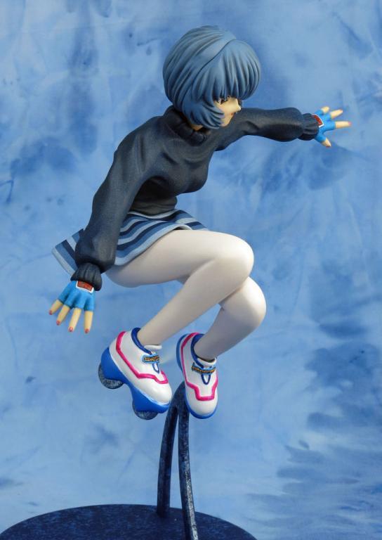 Rei Ayanami roller skates