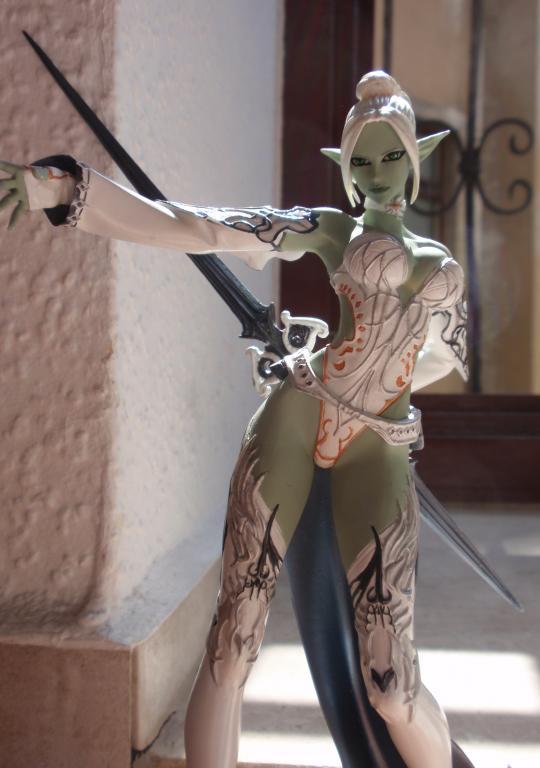 Dark Elf Warrior and Gatekeeper