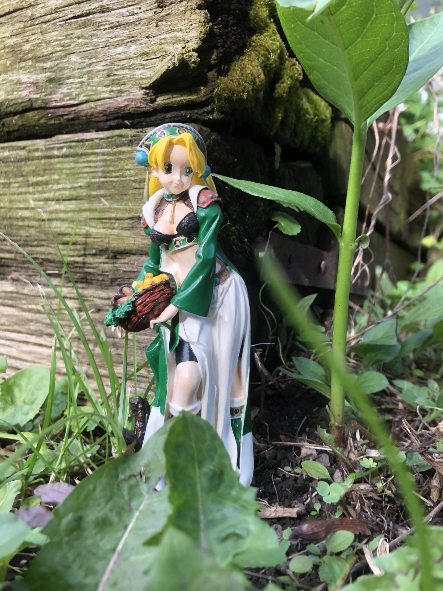 Marie in the forest