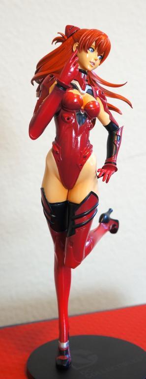 Asuka in plugsuit