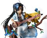 Skuld with Guitar on Bough