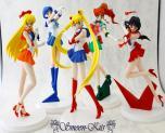 Sailor Moon, Mars, Jupiter, Mercury ,Venus