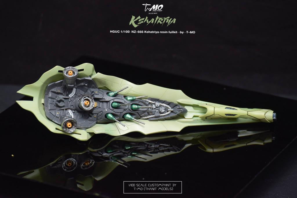 1/100 NZ-666 Kshatriya resin fullkit by T-mo[Thani