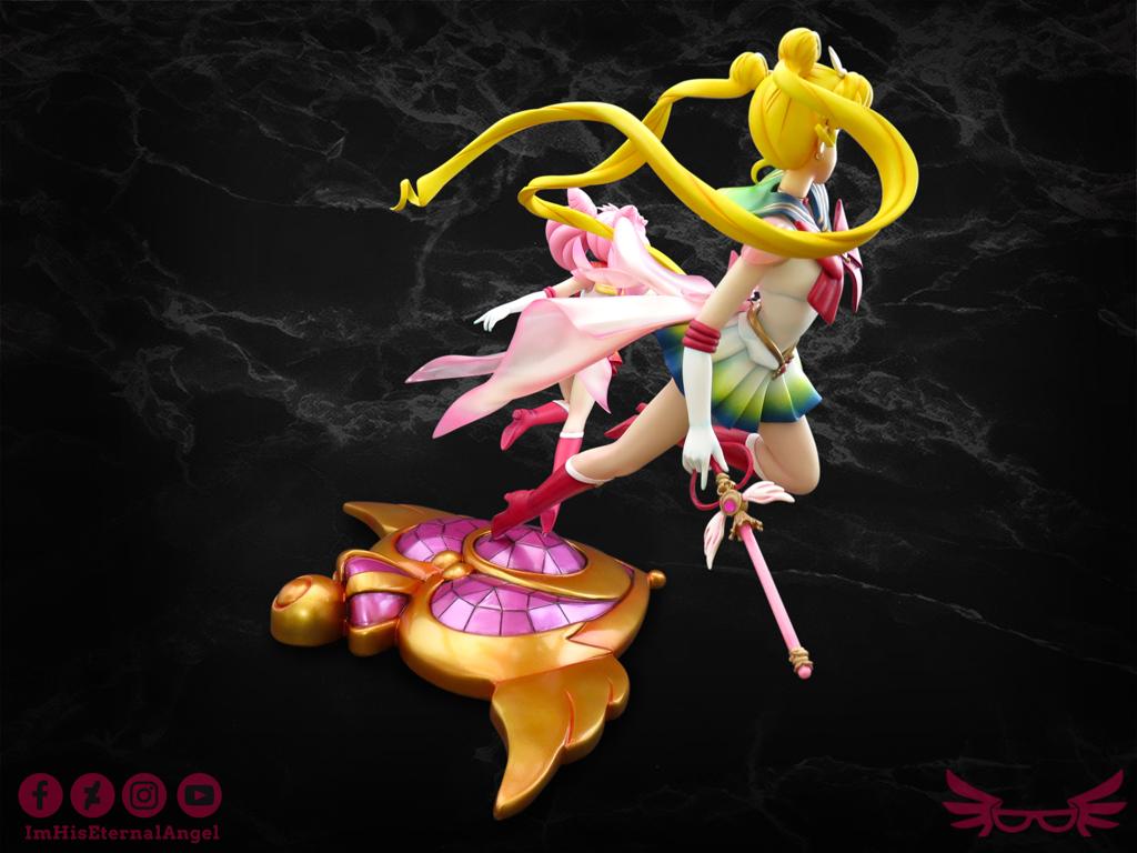 1/5 Super Sailor Moon & Super Sailor Chibi Moon
