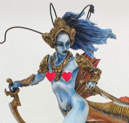 Nymph warrior