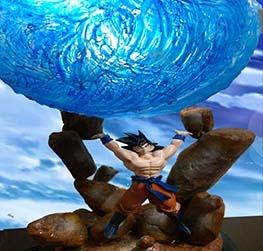 Goku- spirit bomb!