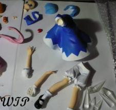 WIP Touhou Project - Cirno (She is smiling! :D)