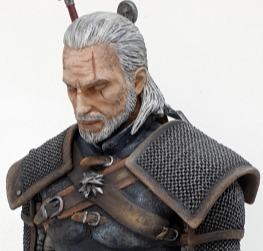 Geralt meditating