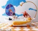 Sakura and Tomoyo bathtub