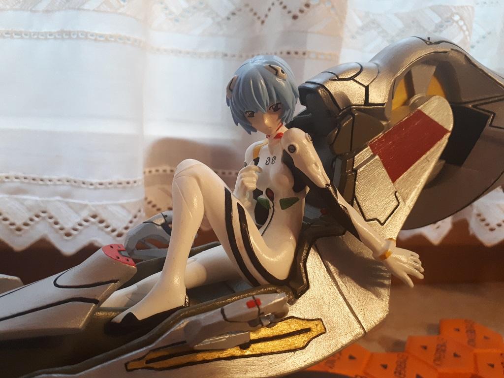 Ayanami Rei mit Entry Plug Interior