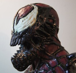 Carnage 1/3 Head Bust
