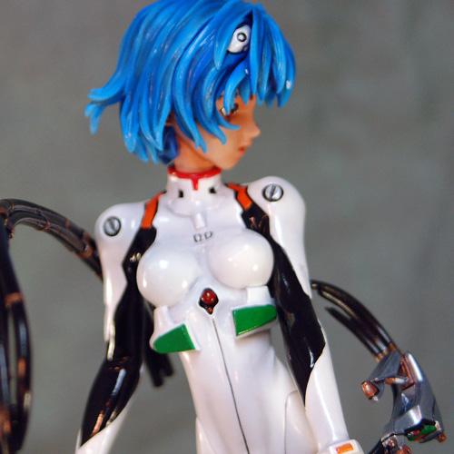 Rei Ayanami in Plug Suit