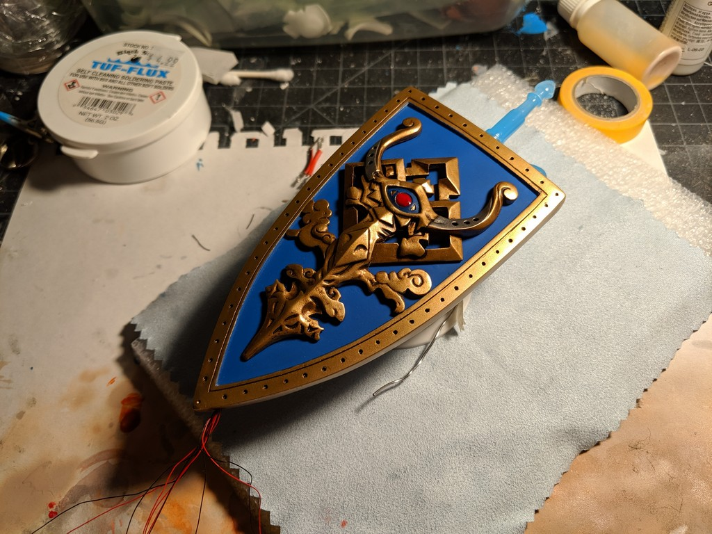 Zooey - Shield & Sword WIP