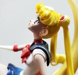 Sailor Moon on moon manga style