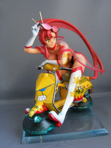 Space Yoko with Motorcycle
