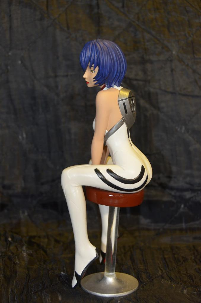 Rei Ayanami with Chair