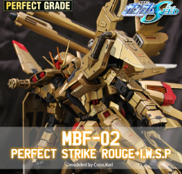 PERFECT GRADE PERFECT MBF-02 STRIKE ROUGE+I.W.S.P