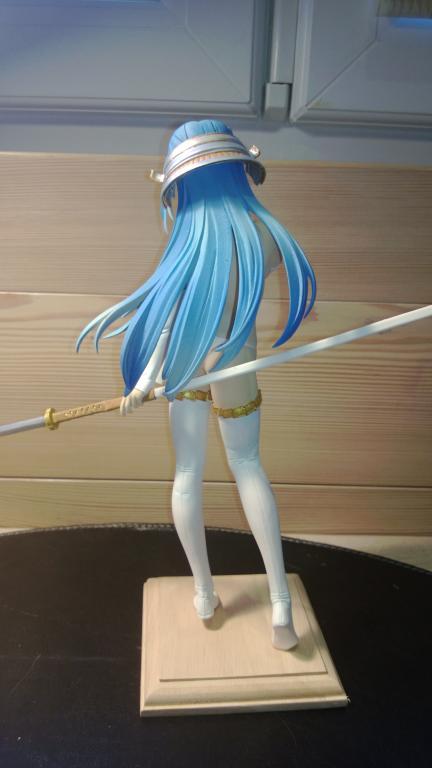 Blue hair Sen Hime