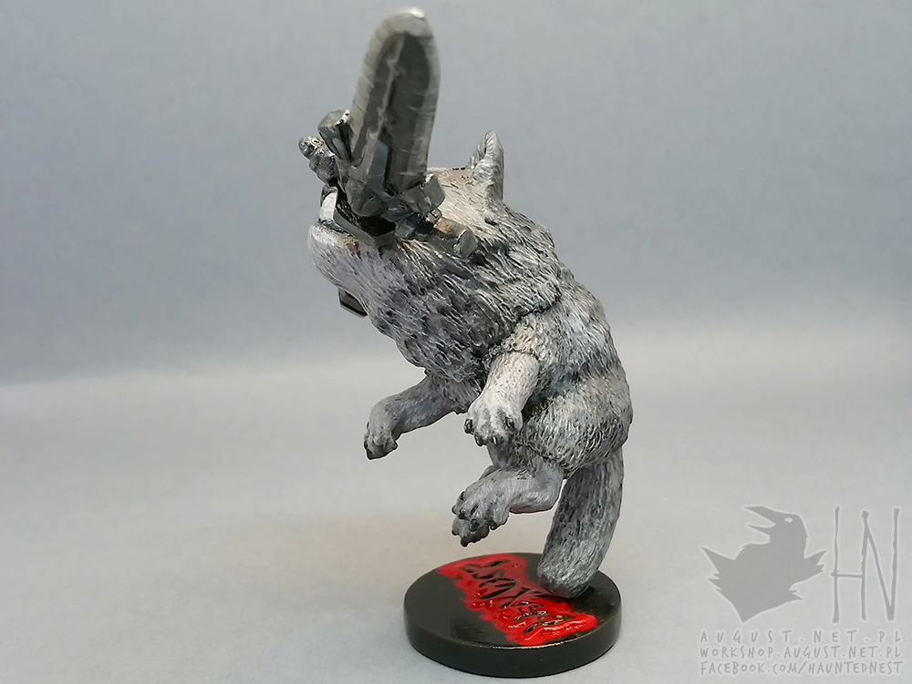 Great Grey Wolf Sif